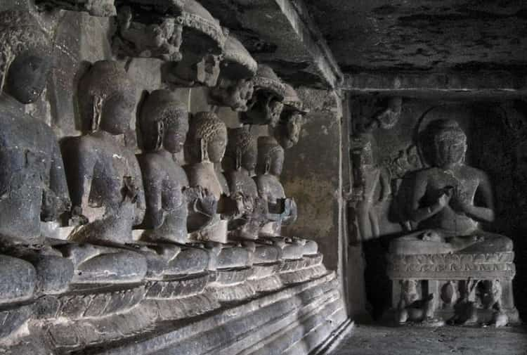 Buddha-in-Ellora-Caves