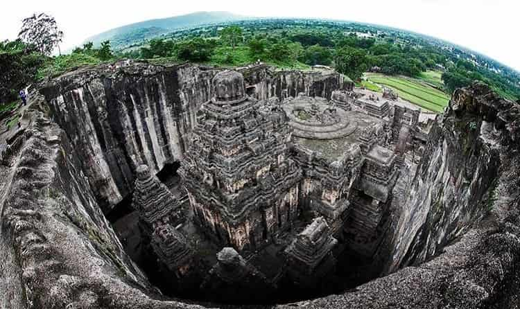 Overview of Ellora Caves